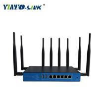 Yinuo-link high quality dual band 1200Mbps industrial LTE 4g wireless router support OEM/ODM