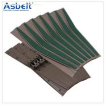 Ast1873TW Side Flexing Spiral Belt,Beverage Flat Top ,Flush Grid Modular Belt