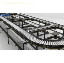 Roller Conveyor,Beverage Flat Top ,Flush Grid Modular Belt