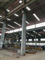 Prefabricated metal steel structure warehouse building