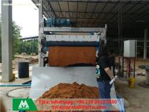 Cocopeat dewatering equipment