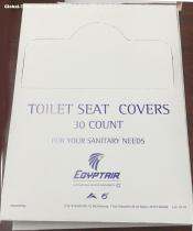 Airline 1/4 fold paper toilet seat cover