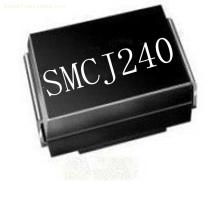 Free Samples 1500W 240V SMCJ240A/CA TVS Chip Rectifier Diode  DO-214AB Case
