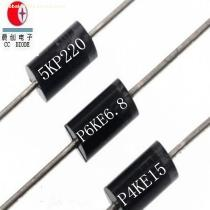 Original Rectifiers 5000W 220V R-6 Case 5KP220A/CA TVS Chip Rectifier Diode Free Samples