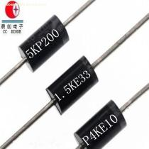 Original Rectifiers 5000W 200V R-6 Case 5KP200A/CA TVS Chip Rectifier Diode Free Samples