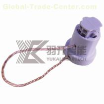 HF Rfid cable seal tags Plastic high security for Container seals lock