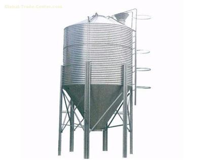 Poultry Feed Silo and Hopper for Automatic Poultry Farm