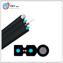 1 2 4 Core Fiber Optic Indoor/outdoor Flat FTTH Drop Cable