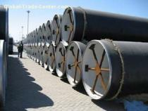 3LPE COATED PIPES,16MM Cement lining pipes