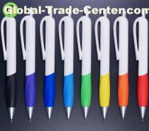 Advertising quality pens with rubber grip and logo