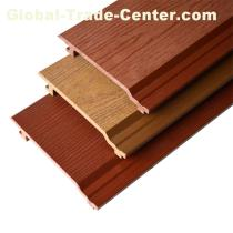 Wood Grain WPC Wall Panel Outdoor With High Quality