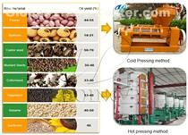 High quality groundnut oil extraction machine with factory price hot sale in nigeria
