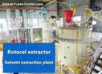 Edible oil solvent extraction plant for extracting soybean oil (soybean pretreatment + cake solvent extraction)