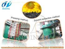 Cooking oil processing machine for 20-50tpd sunflower oil extraction turnkey project