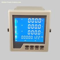 LCD Multi-function Digital Meter With Power Pulse Output and RS485 Communication Function, Large Screen LCD Display Meter with CE Certificat