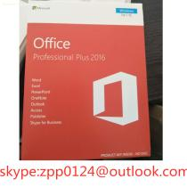 Microsoft Office 2016/Office 2016 Professional plus Edition OEM 32/64 DVD English Packaging Online Activation