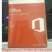 Microsoft Office 2016/Office 2016 home Student Edition OEM 32/64 DVD English Packaging Online Activation