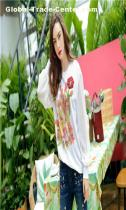 Entry luxury casual  women's T-shirt