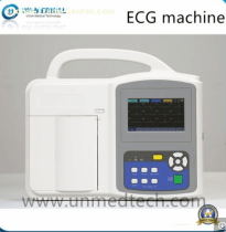 Three channels ECG machine