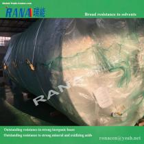 High quality PTFE lining vessel Large Chemical Storage Tank with High Strength and Negative Pressure Resistance