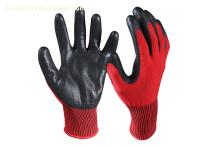 Nitrile Coated Cut Resistant Safety Work Gloves/CRG-03-R