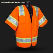 HV-012 High Visibility Safety Vest for Worker's Safety