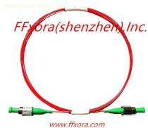 High Extinction Ratio Polarization Maintaining optical fiber patch cord with connector.