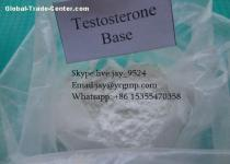 99% Purity Testosterone Anabolic Steroid CAS 58-22-0 Testosterone Base Powder For Bodybuilding jay at ycgmp dot com