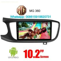 MG 360 Car audio radio update android GPS navigation camera