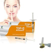 Top-Q super fine line 1ML cross linked hyaluronic acid Dermal Filler injection