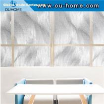 H17306 3D static No-Glue decoration privacy window glass sticker