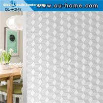 H001 Decorative Blackout Privacy Glass Window Film Stickers