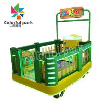 Colorful Park Happy Treading Kids Arcade Game Ticket Redemption Kid Game Machine for Sale