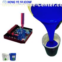 Electronic potting silicone rubber for electronic encapsulation
