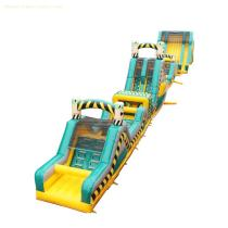 5007445-Inflatable Playground Sport Adrenaline Run Obstacle Course for Adult & Kids