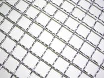 ss304 304L 306 306L stainless steel crimped woven mesh10x10mm crimped wire mesh