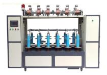 Cotton yarn silk twisting machine