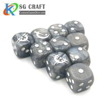 High Quality Custom Plastic Dice