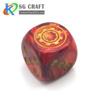 plastic game dice2