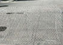 Flexible Hexagonal Gabion Box , Steel Mesh Gabions For Bank Control