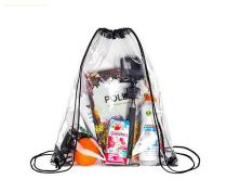 Custom Transparent PVC DrawString Backpack