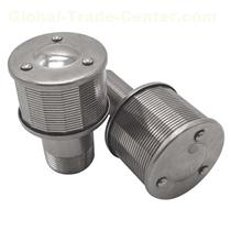 Wedge Wire Single Filter Nozzle with Cover Plate for Liquid Solid Separation