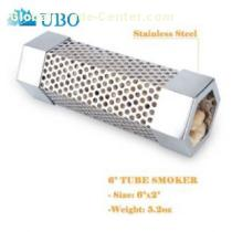 6 Inches Stainless Steel Hexagonal BBQ Smoking Tubes
