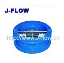 duo door wafer check valve