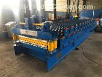Automatic double profile IBR roof sheet roll forming machine