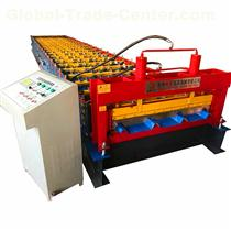 Roof Use Trapezoidal Profile Steel Roofing Sheet Roll Forming Machine