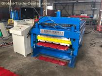double deck glazed and trapezoidal roll forming machine