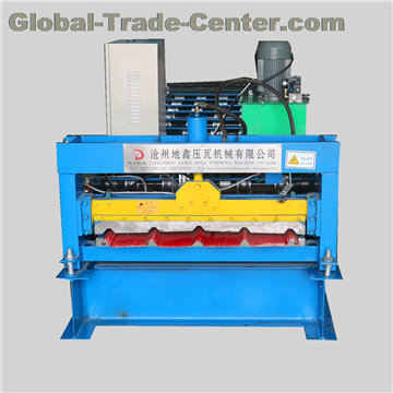 840mm trapezoidal roof sheet roll forming machine