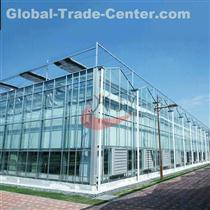 Commercial Agricultural Glass Greenhouse for Flower and Vegetables  Glass Greenhouse
