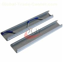 Galvanized Steel Greenhouse Film Lock Channel Different Thickness  Galvanized Steel Film Lock Channel